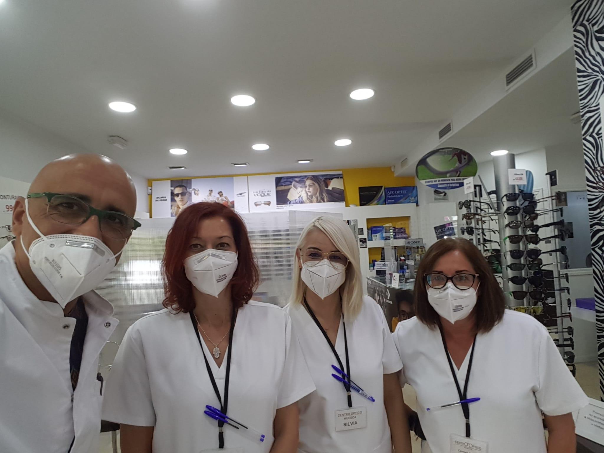 Equipo Centro Óptico Huesca