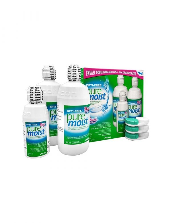 Solución Única Opti Free Puremoist Pack 690 ML Alcon